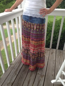 Gypsy Skirt Re-make