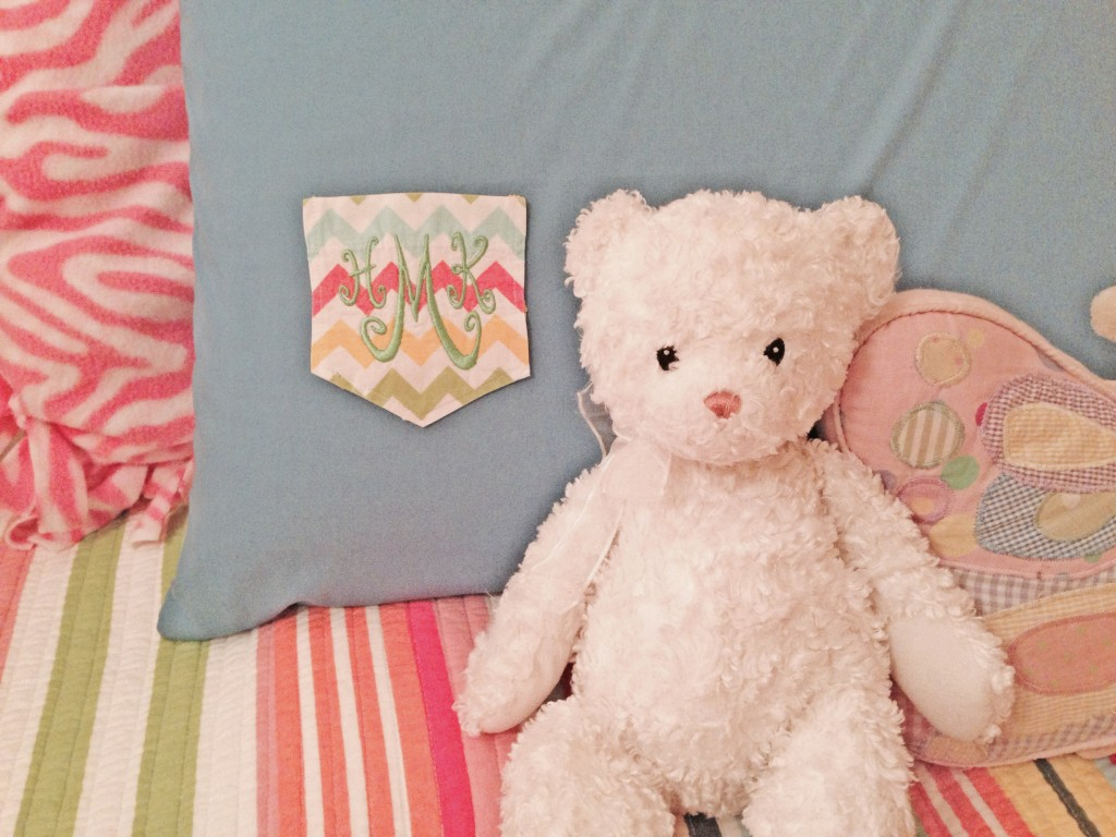 Monogrammed Pillow Case