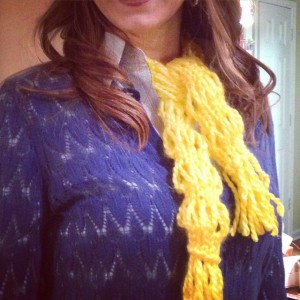 Lantern Scarf by Heather Kate