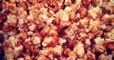 Crazy Good Caramel Popcorn